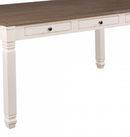 Table Antique blanc