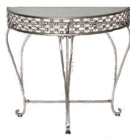 Table console en métal
