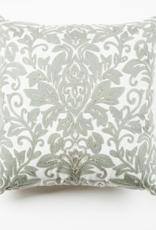 Coussin Damask Gris 17""