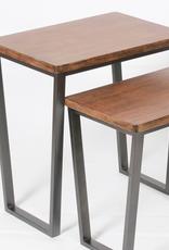 "C.J. Marketing Table NANNA Wooden H21"" 19""x13.5"""