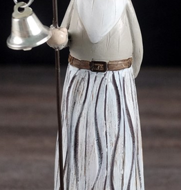 "Figurine Santa  Grey 8"""