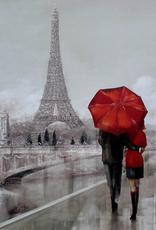 """Tour Eiffel Brillante                       20""""x27"""""""