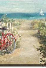 """La Bicyclette Rouge         22""""x28"""""""