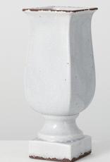 "Vase-céramic craquelé 12.5"""