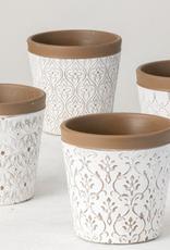 """Pot de fleurs en céramique H5"""""""