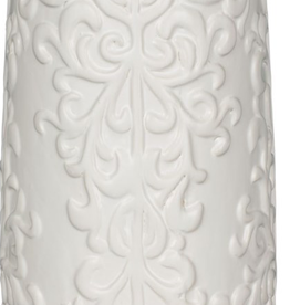 """Vase blanc 13.5"""""""