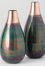 """Vase-alluminium 15"""""""