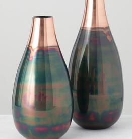 """Vase-alluminium 13"""""""