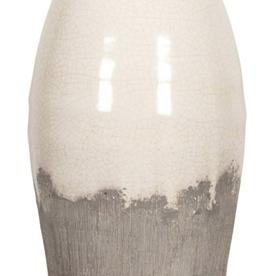 """Vase 2 tons céramique 13"""""""