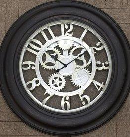 Horloge Black champagne 30x30