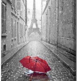 Streamline TOILE Eiffel Tower RED 30X45