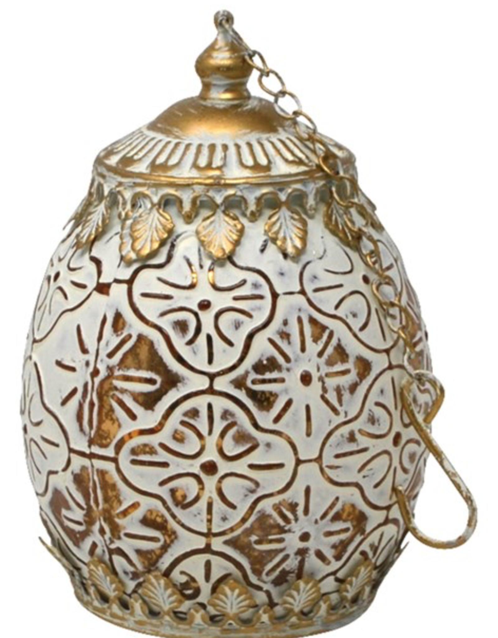 Lanterne DEL dorée