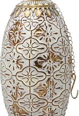 Lanterne DEL dorée grande