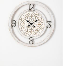 "Horloge mural en à motifs 28"""