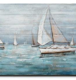 """Peinture de peinture sur bois 79"""" x 25"""""""