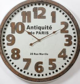 "C.J. Marketing Horloge Antique de Paris 32"" x 32"""