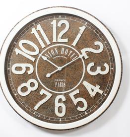 """Horloge hôtel union 31"""" X 31"""""""