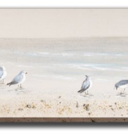 """Toile Oiseaux de rivage 20"""" x 59"""""""