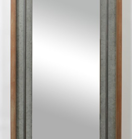Grand miroir Duffy avec barre en métal