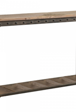 "Table console rectangulaire Trenton en pin vieilli 41"" x 6"" x 15"""