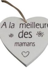 """Décoration de Noël 4"""" À la meilleure des mamans"""