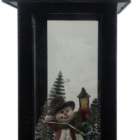 """Lanterne  de Noël10"""" hauteur"""