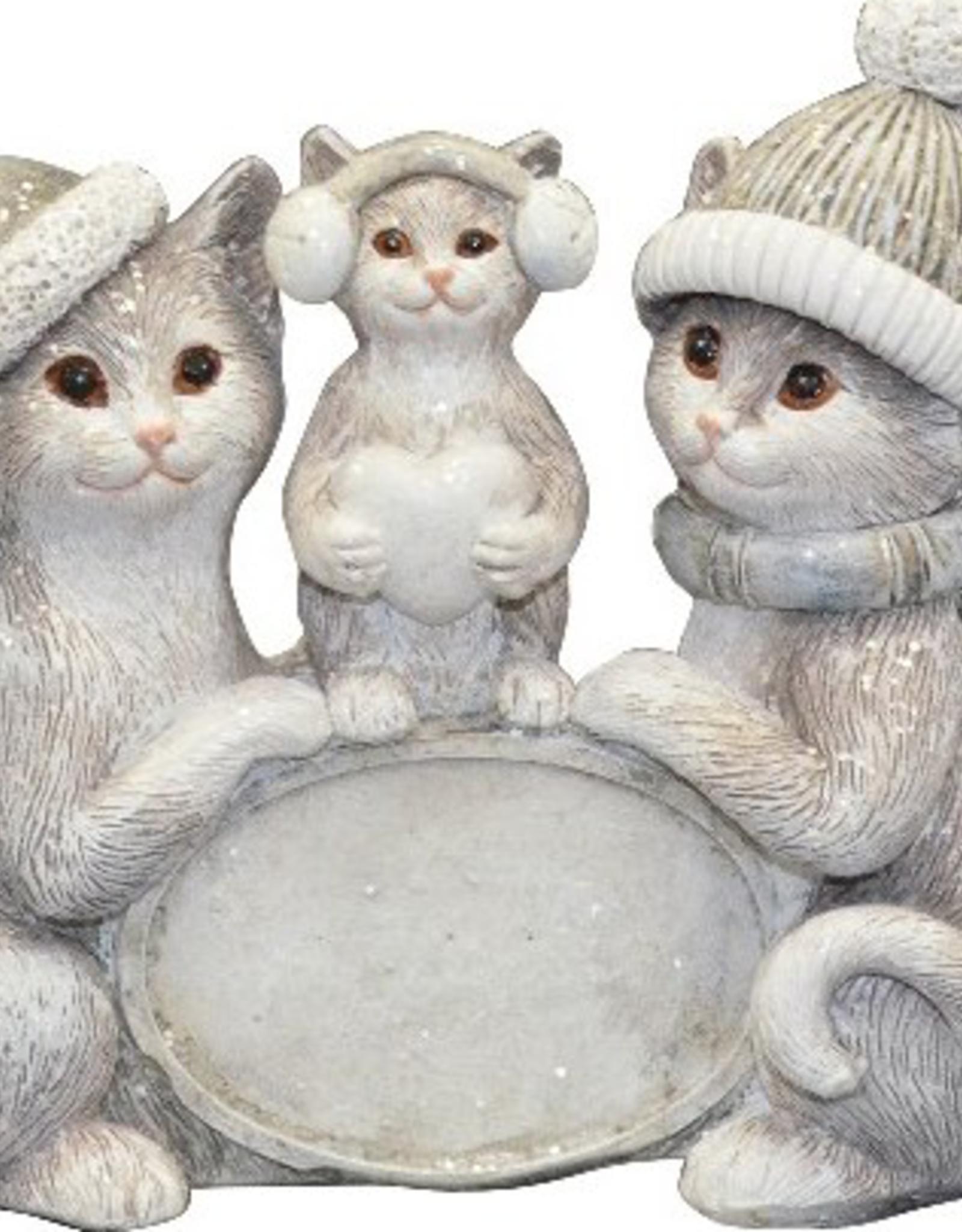Décoration Famille de chats