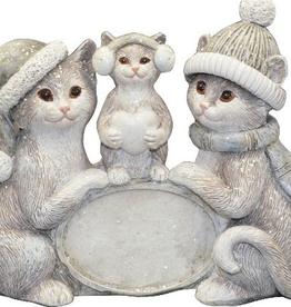 Décoration de Noël Famille de chats
