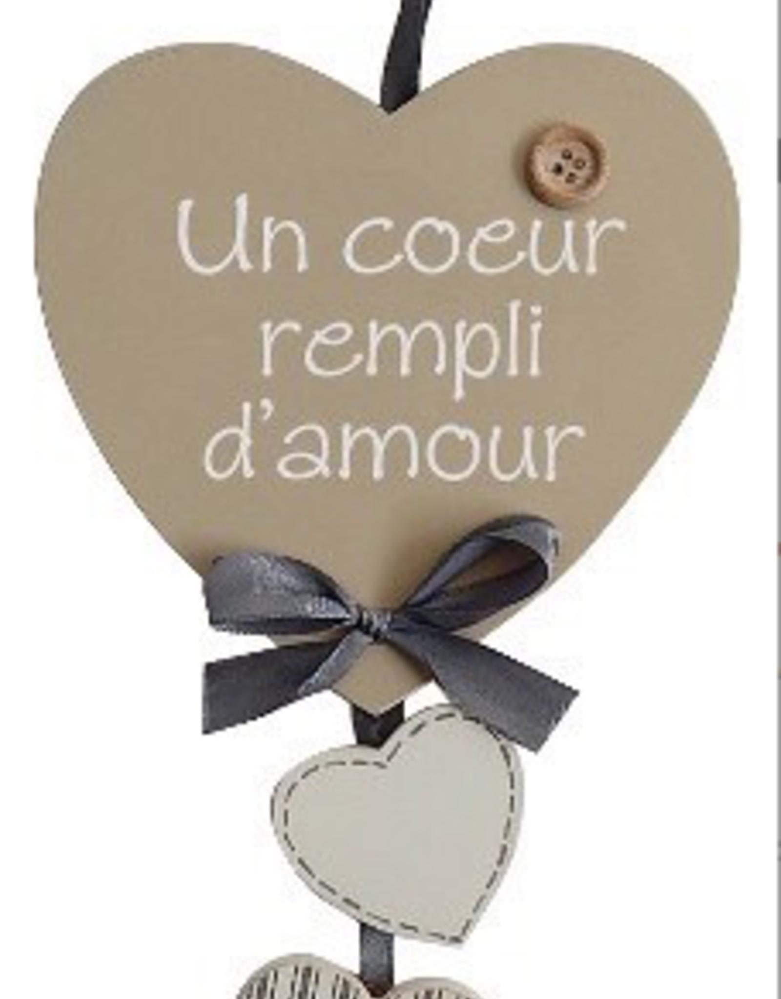 """Coeurs 5"""" Un coeur rempli d'amour"""