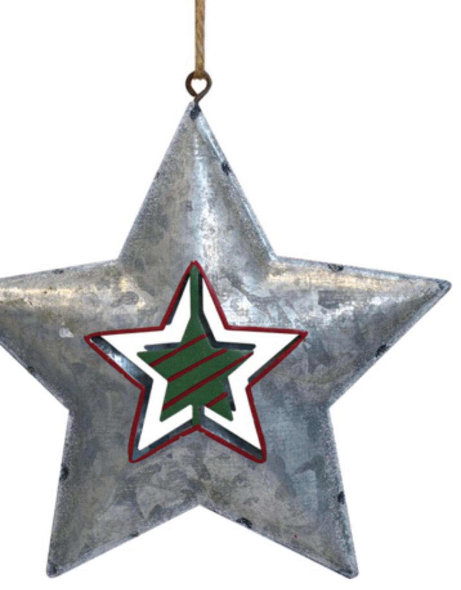 """Décoration de Noël Étoile 4"""""""