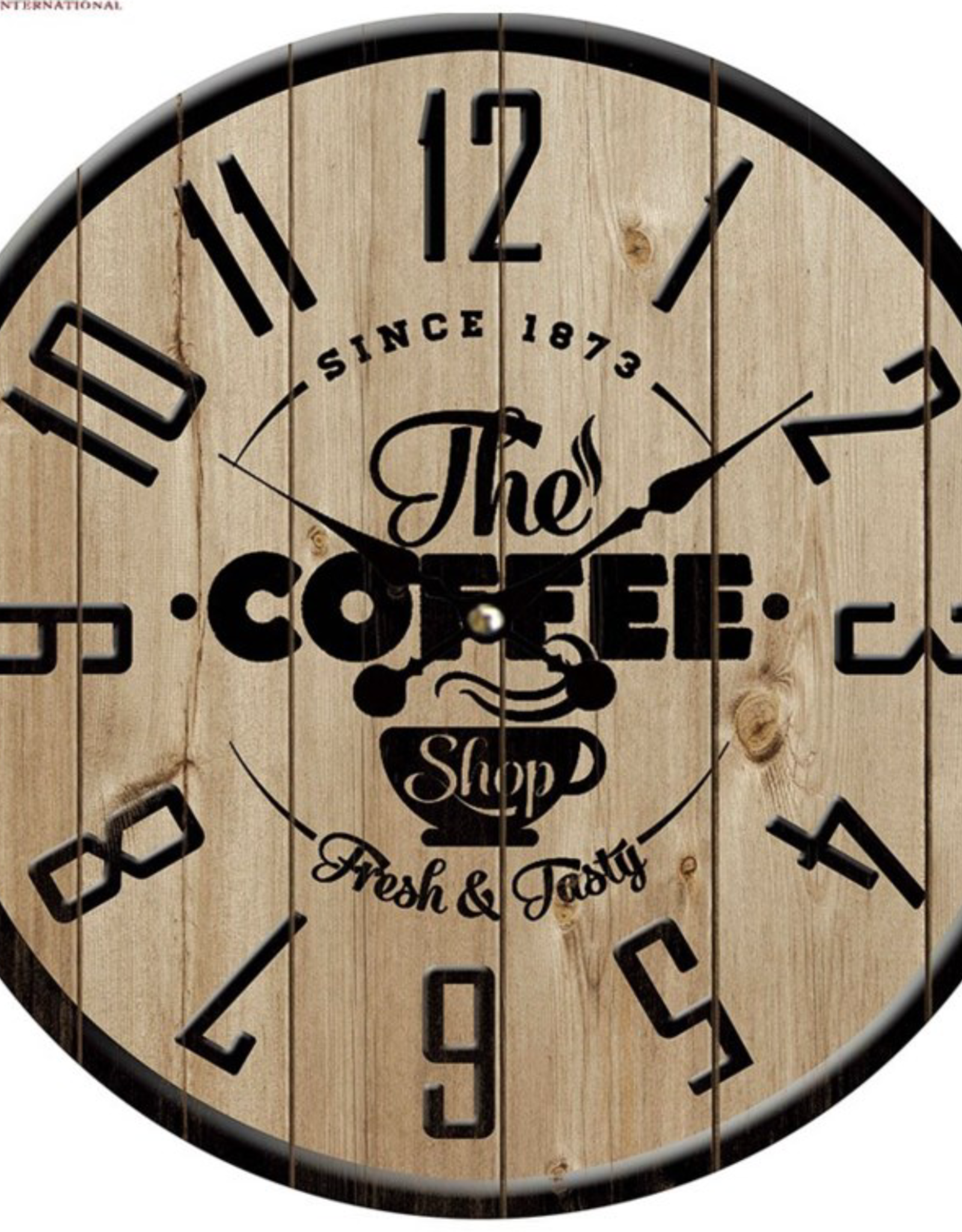 "Horloge ""The Caffee Shop"" 15"""