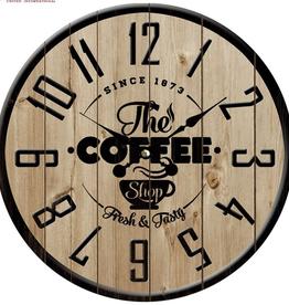 "Horloge ""The Caffee Shop"" 15"""