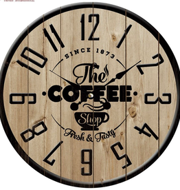 "Horloge ""The Coffee Shop"" 15"""