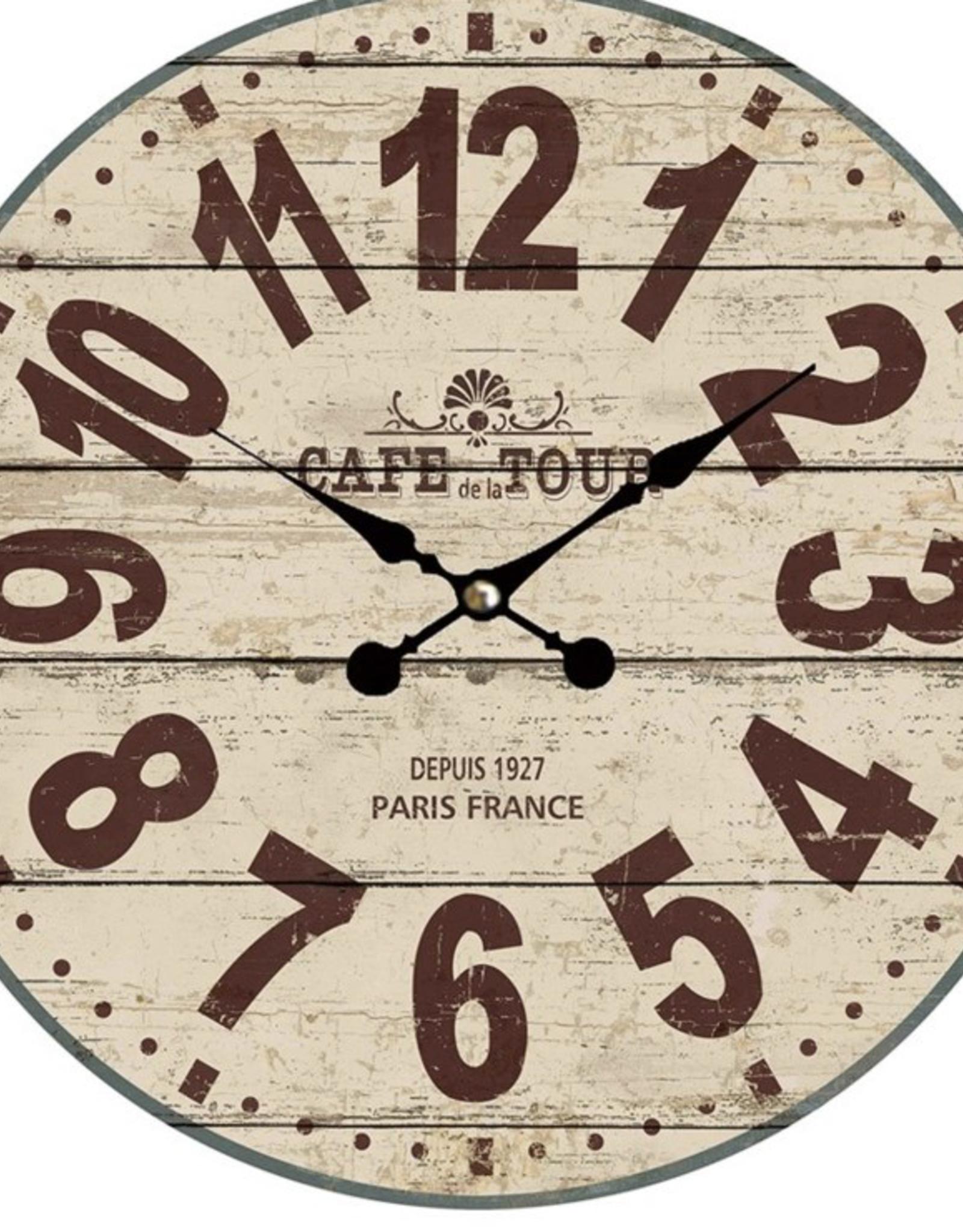 """Horloge """"Café de la Tour"""" 15"""""""