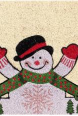 Tapis Bonhomme de neige 18'' X 30''
