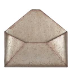 """Boîte a lettre en métal 10"""" x 11"""""""