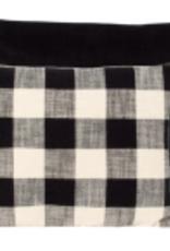 Coussin Noir et Beige 14 x20