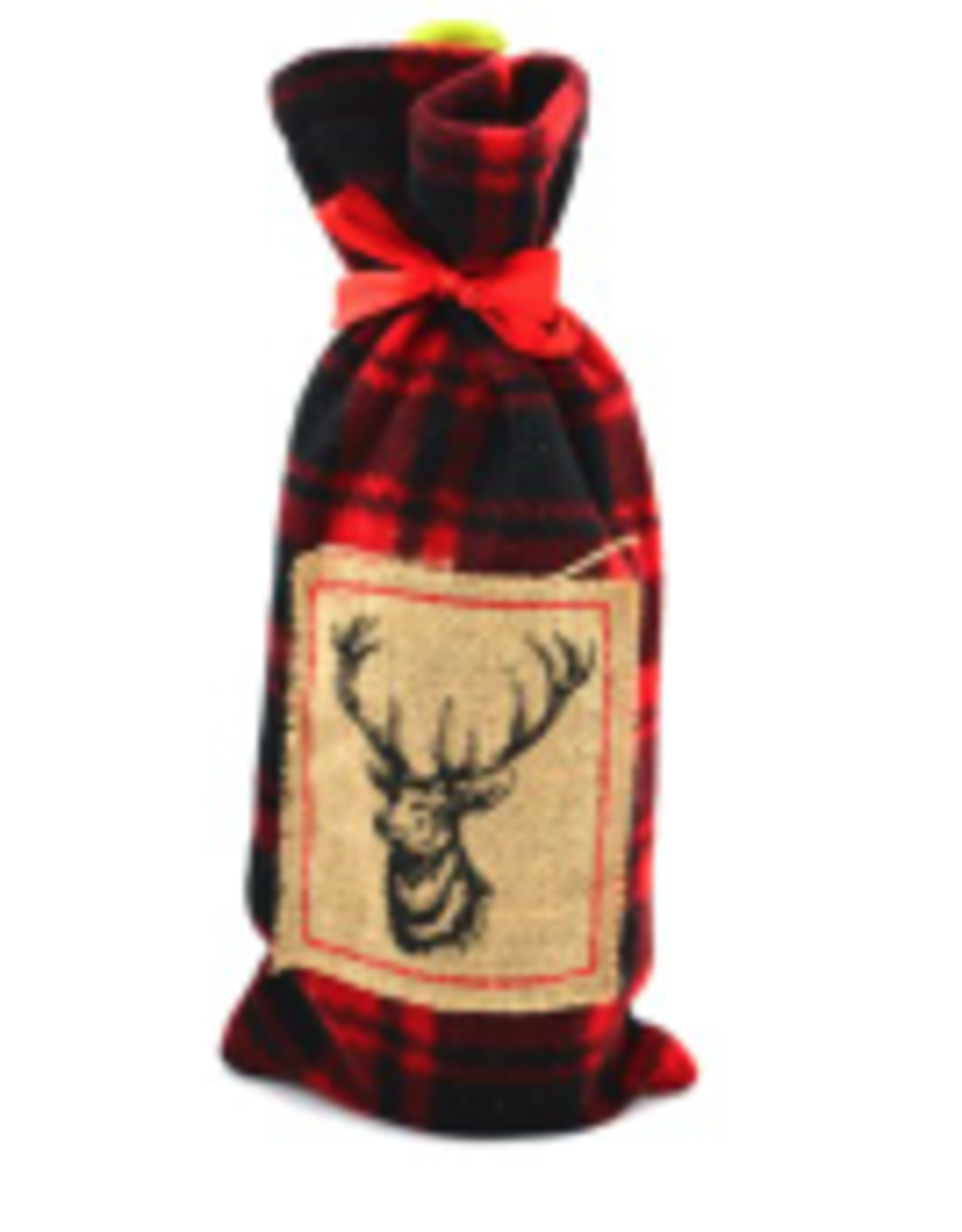 Sac à vin cerf Lumberjack