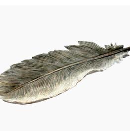 Assiette en forme de plume