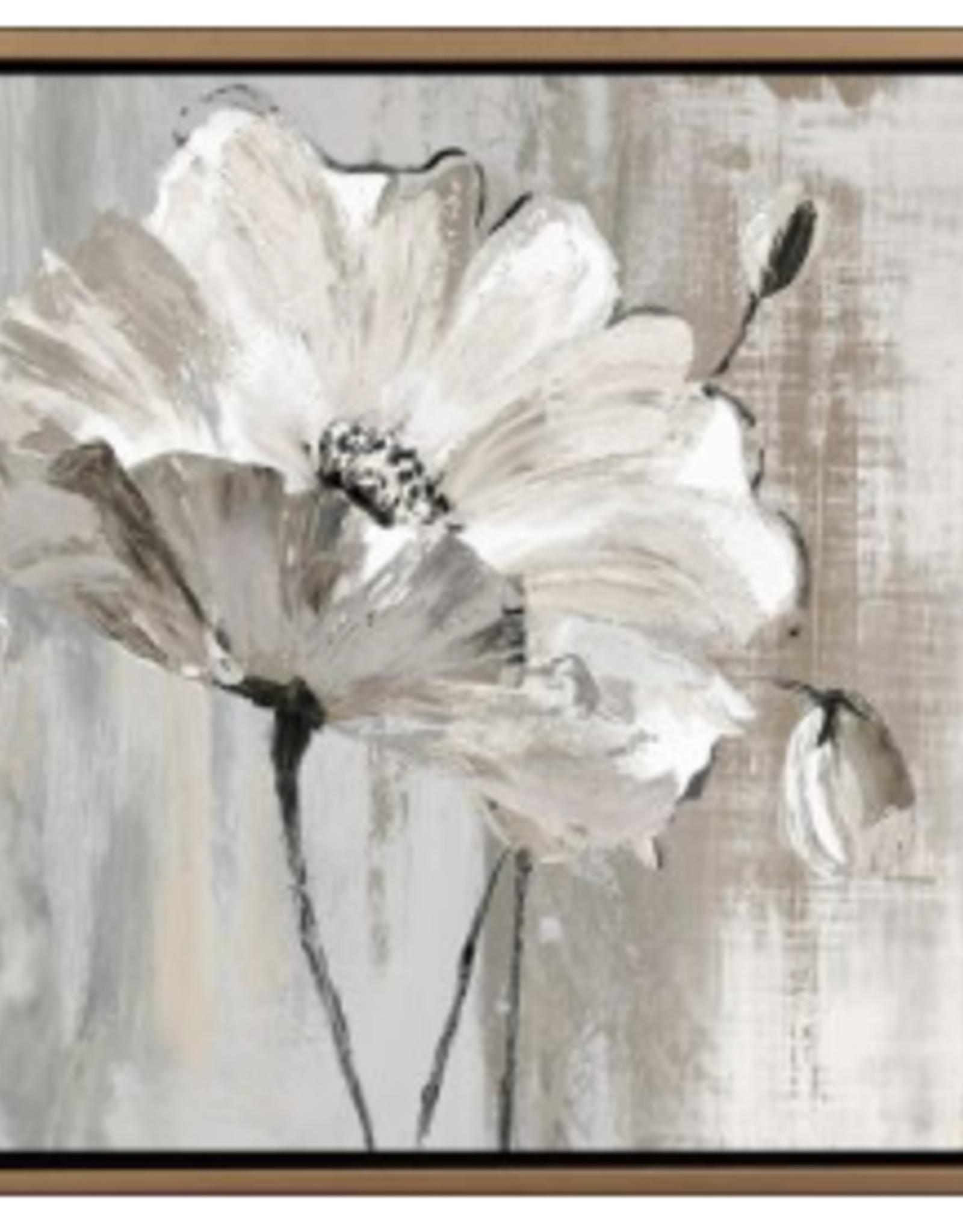 """Toile Poésie florale 60"""" x  22"""""""