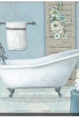 "Toile bain dans salle de bain18""x18"""