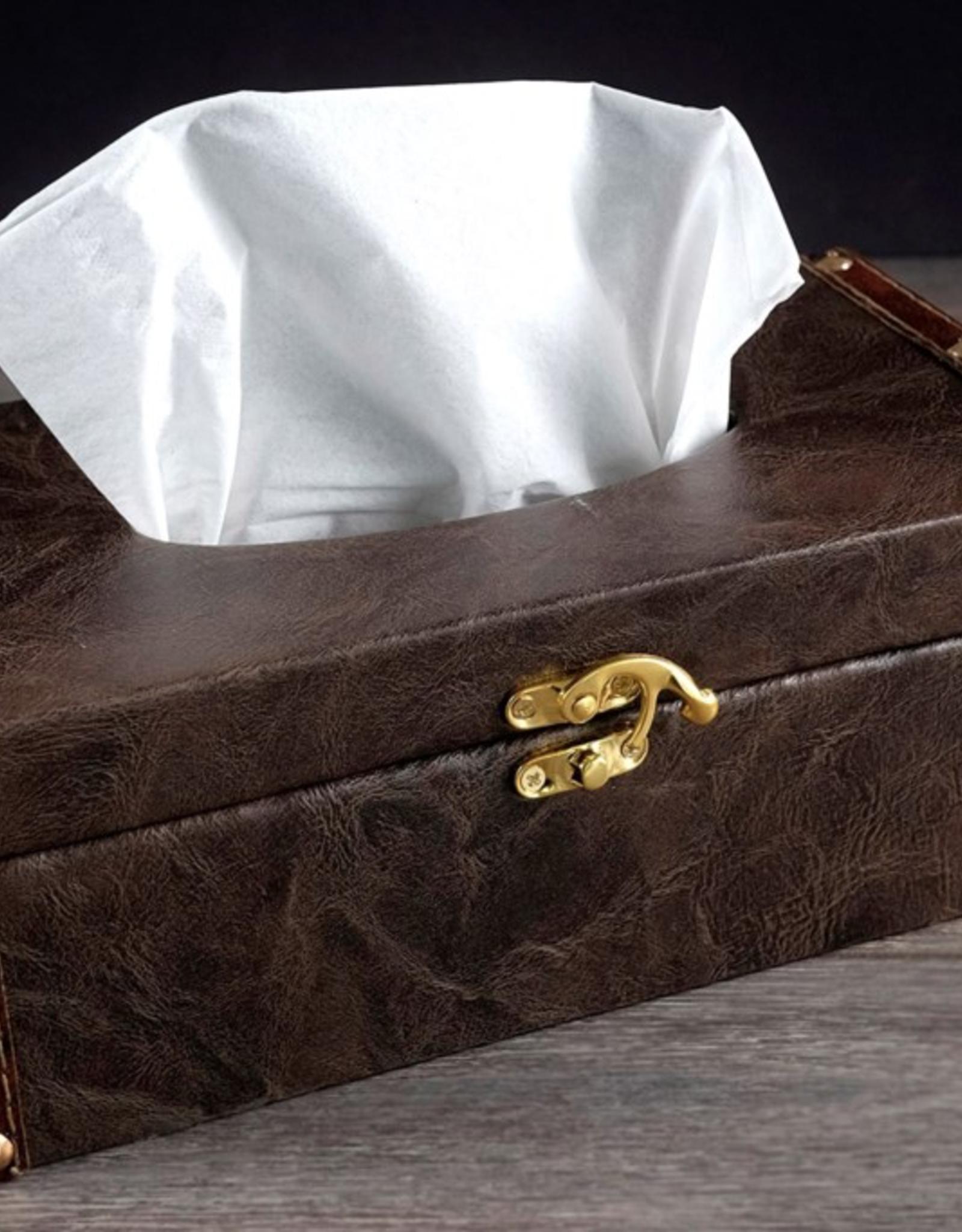 Boîte de Kleenex en faux cuir