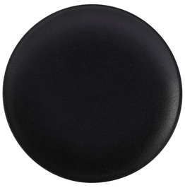 """Assiette Caviar noir 8"""""""