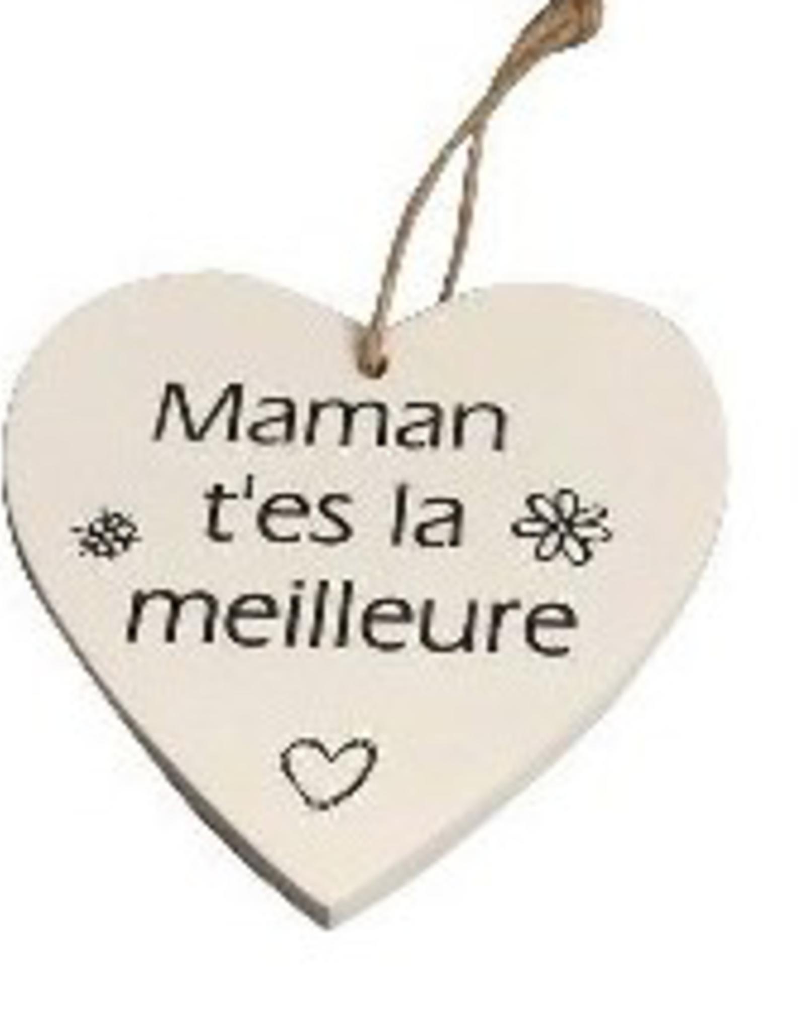 """Coeur""""Maman t'es la meilleure"""""""