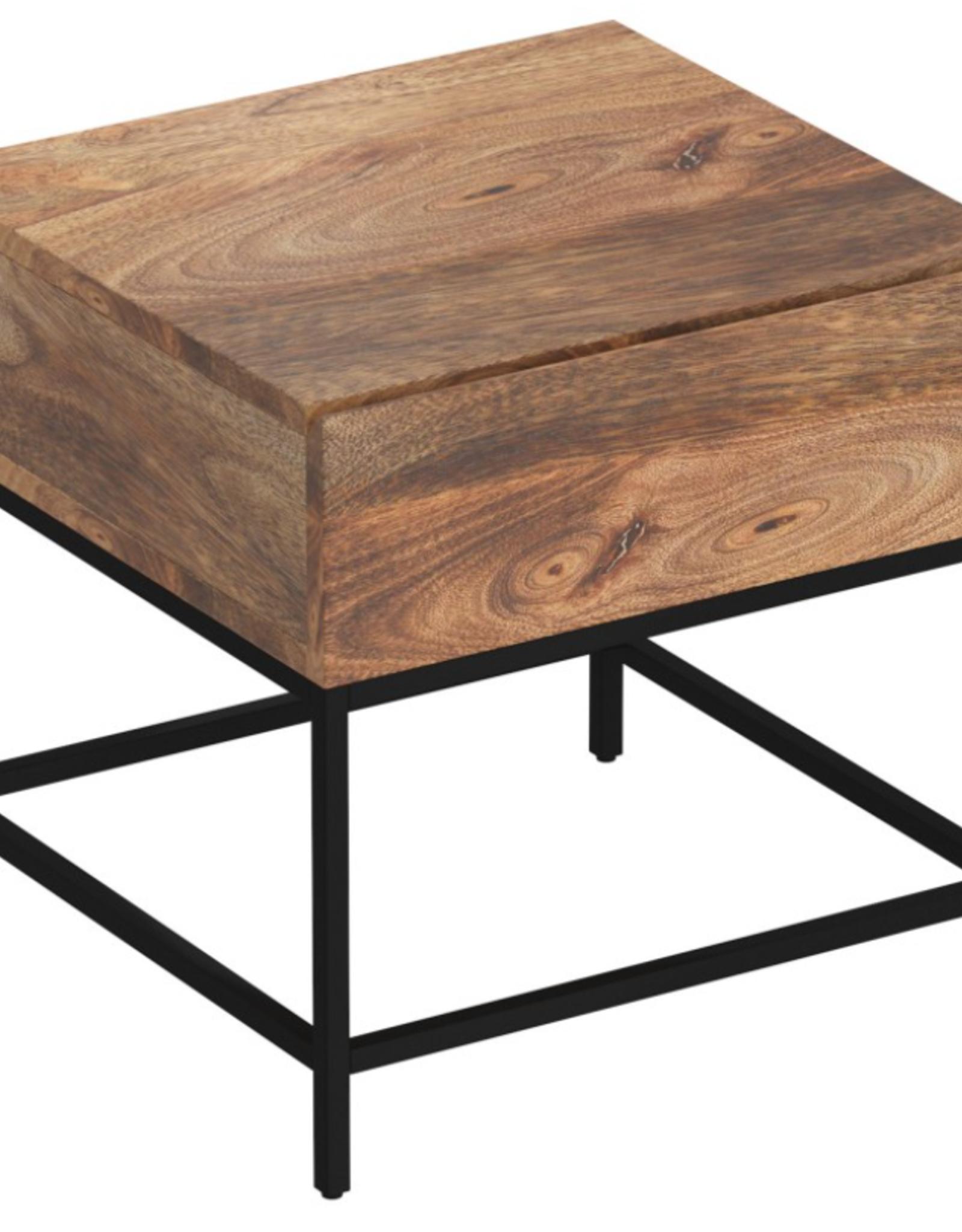 """Table de chevet 22""""x22"""" H 22.5"""""""