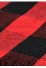 """Chemin de table rouge/noir 14""""x45"""""""