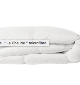 """Couette """" La chaude"""" microfibre king"""
