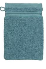 Gant de toilette turquoise