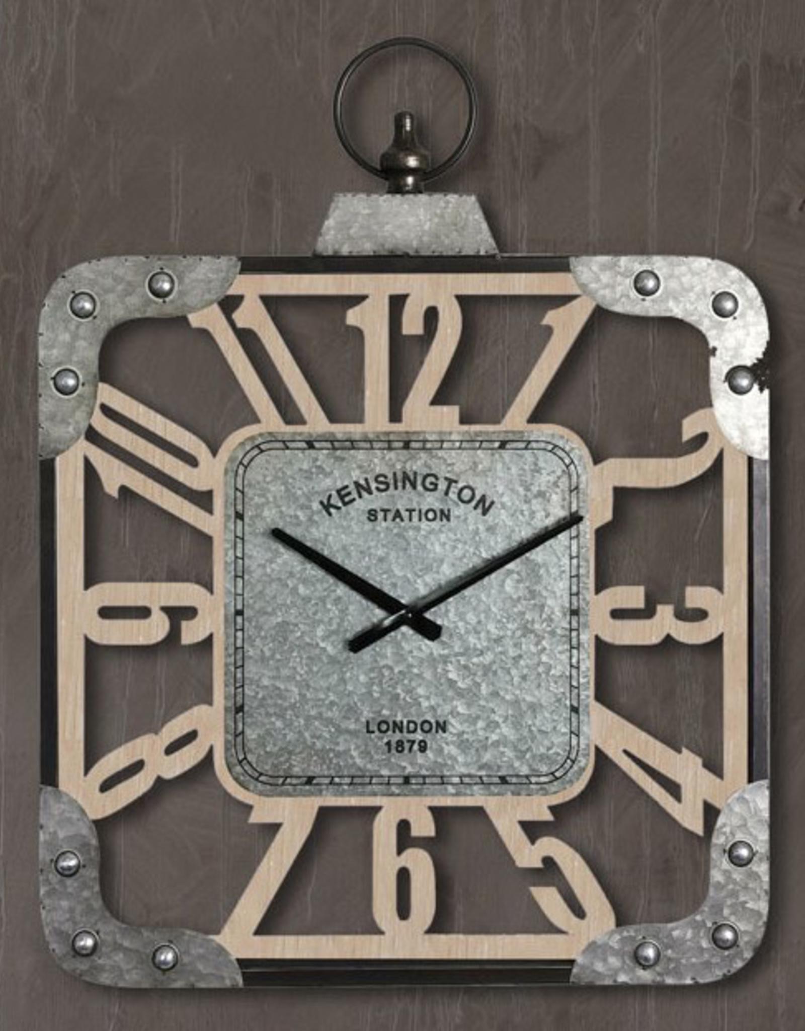 """Horloge murale KENSINGTON (24""""x24"""")"""