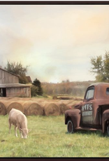 "Streamline Toile ""Country Farmland"" 30x60"
